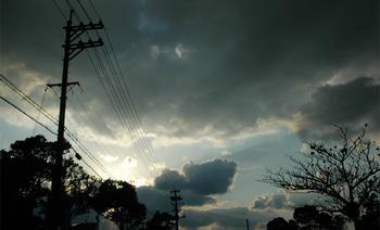 3月・夕方の雲