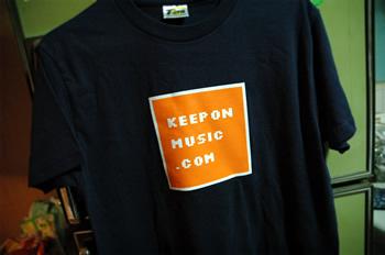 キーポンミュージック.com Tシャツ!